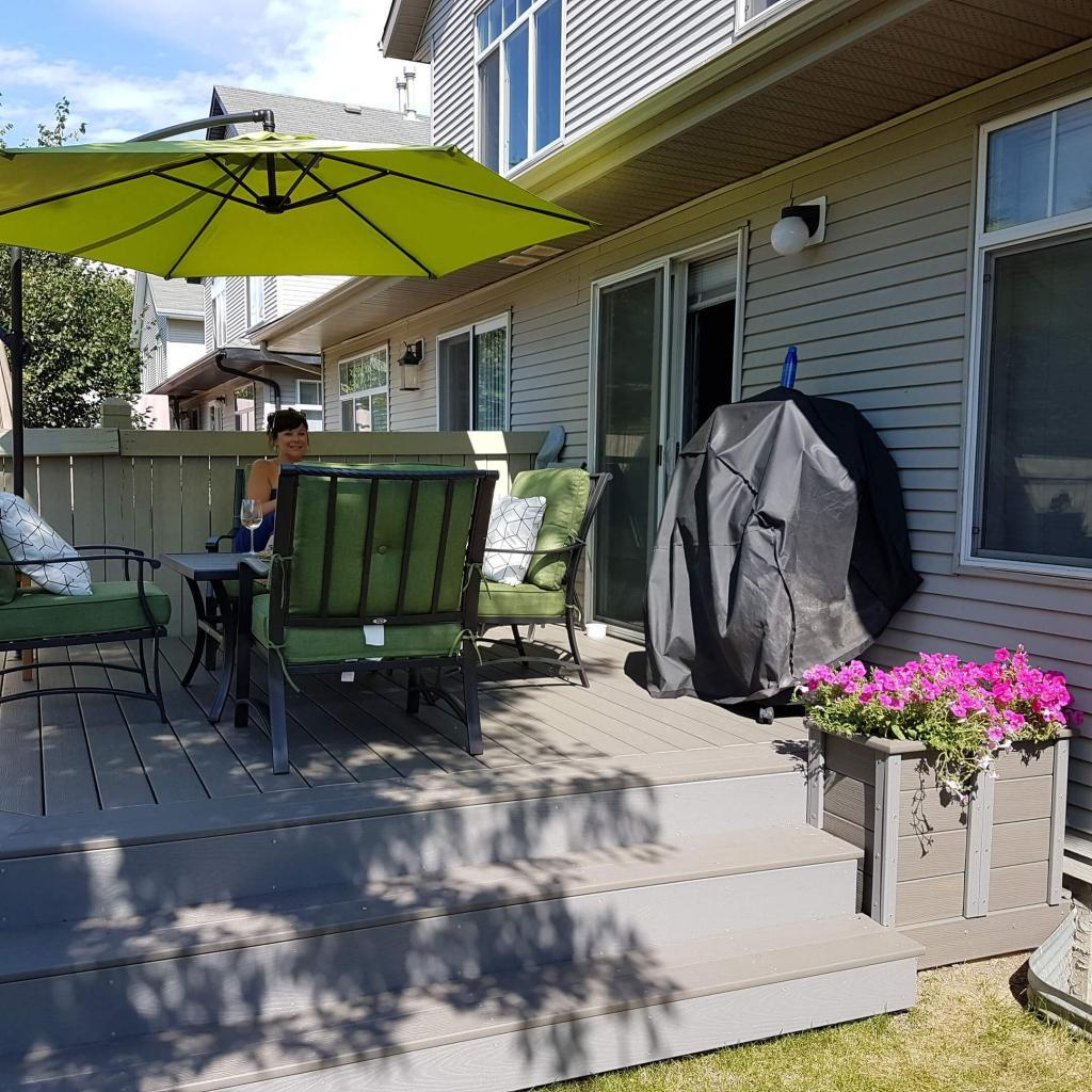 Composite deck renovation