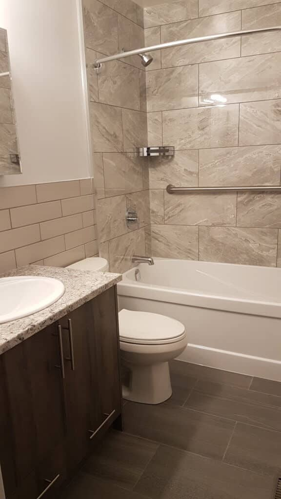bathroom remodel-complete makeover